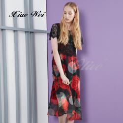 CHENG DA 春夏專櫃精品女裝時尚流行短袖洋裝NO.020179