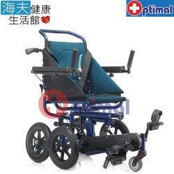 【海夫健康生活館】Optimal Medical 復健型 腳踏 避震 輪椅(OP-PW412)