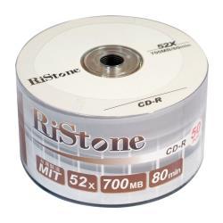 RiStone 日本版 CD-R 52X 裸裝 (50片)
