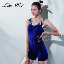 沙麗品牌 時尚流行大女四角連身泳裝 NO.H19131A
