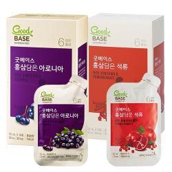 【正官庄】 高麗蔘野櫻莓飲10入+高麗蔘紅石榴飲10入