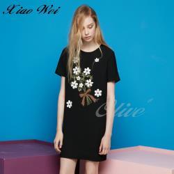 CHENG DA 春夏專櫃精品女裝時尚短袖洋裝NO.021714