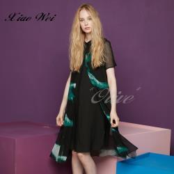 CHENG DA 春夏專櫃精品女裝時尚短袖洋裝NO.021638
