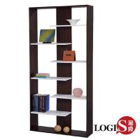 LOGIS邏爵~日式七層收納櫃置物櫃 展示櫃 書櫃 書架 層架 壁櫃 壁架 C-LS-25