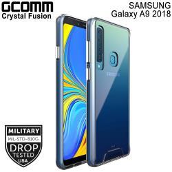 GCOMM Galaxy A9(2018) 晶透軍規防摔殼 Crystal Fusion