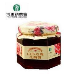 【埔里鎮農會 】山形玫瑰花瓣醬160公克/罐
