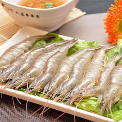[賣魚的家]台灣特選鮮凍白蝦 6盒組(230g±3%盒)