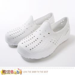 魔法Baby 女鞋 超輕量晴雨兩用休閒洞洞鞋~sa92709