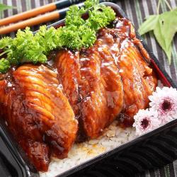 【上野物產】日式蒲燒鯛魚蜜汁腹排 x20片組(45g土10%/片)   (鯛魚片.日式料理.鮮魚.即時.調理.蒲燒)