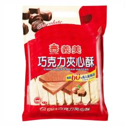 義美夾心酥 巧克力風味量販包 2片*16包入