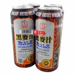 美式賣場【崇德發】黑麥汁500ml*4入組