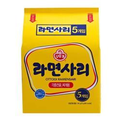 韓國 Ottogi-不倒翁 Q拉麵(115G*5包入)