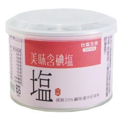 台鹽-健康美味含碘鹽300g