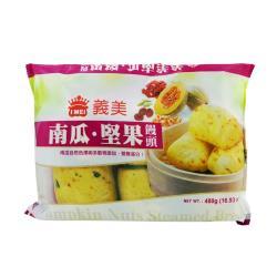 義美南瓜堅果饅頭 6粒(480g)