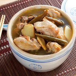 呷七碗-剝皮辣椒雞湯 490g