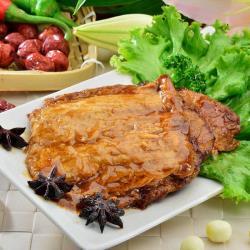 【素食】老林記-紅燒豆包6入/包