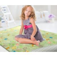 范登伯格  法蘭絨★超細柔折疊地毯-繽紛樂園  100x150cm