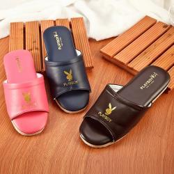 台灣製PLAYBOY燙金室內拖鞋(8雙特惠組)