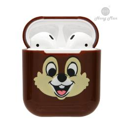 【Hong Man X Disney】正版授權 AirPods硬式保護套 奇奇與蒂蒂 奇奇款
