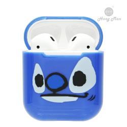 【Hong Man X Disney】正版授權 AirPods硬式保護套 史迪奇