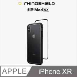 【RhinoShield 犀牛盾】iPhone XR Mod NX 邊框背蓋兩用手機殼-黑色