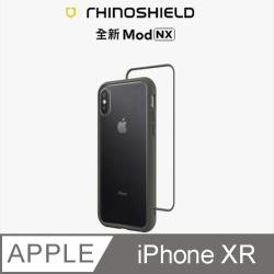 【RhinoShield 犀牛盾】iPhone XR Mod NX 邊框背蓋兩用手機殼-泥灰