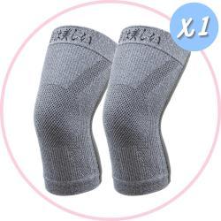 【京美】長效支撐X型舒緩護膝 一雙(買就送優生 超厚型抗菌酒精濕巾80抽/包)