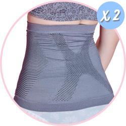 2件組【京美】X銀纖維極塑護腰 2件組(買就送優生 超厚型抗菌酒精濕巾80抽/包)