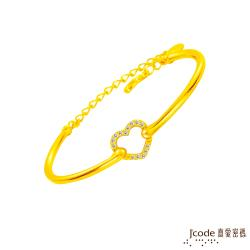 Jcode真愛密碼 完美愛情黃金手環