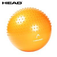 HEAD海德 專業雙效防爆瑜珈球 65cm gymball 加厚螺旋防滑顆粒按摩環保材質