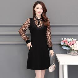 最水-俐落大方修身A-Line洋裝