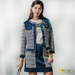 MONS小香風經典時尚百搭短裙