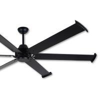 阿拉斯加 MEGA工業風吊扇96吋-遙控-黑色
