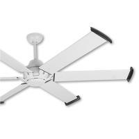 阿拉斯加 MEGA工業風吊扇96吋-遙控-白色