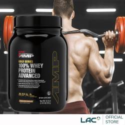 GNC健安喜 AMP 極速飲品-香草1.96磅/巧克力口味2.05磅 (乳清蛋白/消化酵素/BCAA)