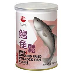 【味一食品】鱈魚鬆150g(易開罐)*6入組