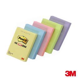 3M Post-it 利貼 可再貼便條紙3X2-粉藍