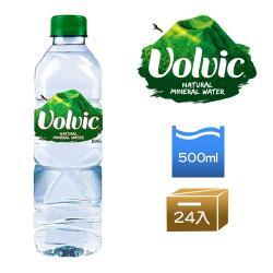 【富維克Volvic】天然礦泉水500ml(24入/箱)