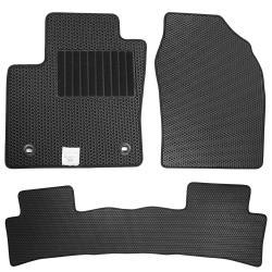 CARBUFF 汽車腳踏墊 VW Golf(含GTI) (2013~) 適用 / 蜂巢式防水車墊
