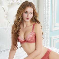 【瑪登瑪朵】輕盈軟棉圈內衣  A-E罩杯(雅緻紅)