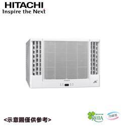 HITACHI日立 6-8坪變頻冷暖雙吹式窗型冷氣 RA-50NV1