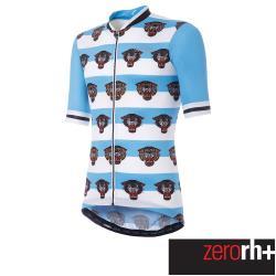 ZeroRH+ 義大利美式復古刺青圖騰系列男仕專業自行車衣(藍) ECU0632_39P