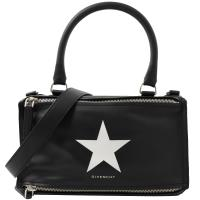 Givenchy 紀梵希Star Obsedia星星徽章兩用潘朵拉包.黑