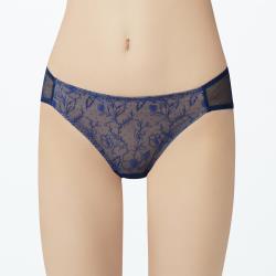 【瑪登瑪朵】無比集中 低腰三角網褲(雪夜藍)