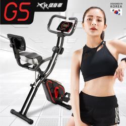WELLCOME好吉康 全新升級渦輪式 XR-G5 二合一磁控飛輪健身車 12段大阻力+座墊背墊大升級