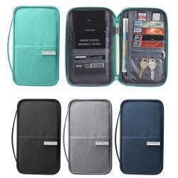 旅行防水護照證件萬用包