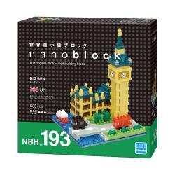 【 Nano Block 迷你積木 】NBH_193 大笨鐘