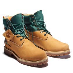 Timberland 男款小麥色經典防水休閒靴A2D6U231