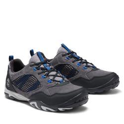 Timberland 男款深灰色Crestridge麂皮絨面休閒鞋A255TC64