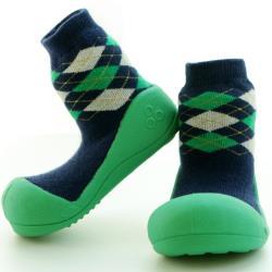 韓國Attipas快樂學步鞋-菱格紋綠